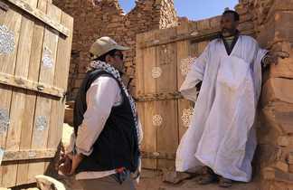 Remparts de Ouadane en Mauritanie