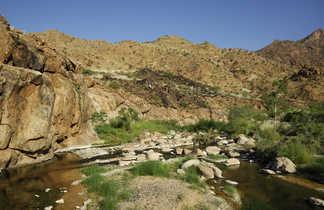 Rivière Khowarib lors d'un trek namibien