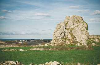 Rocher à Auderville en Normandie