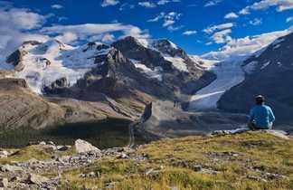 Rocheuses canadiennes, glacier Athabaska