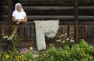 Roumanie, habitante du Maramures