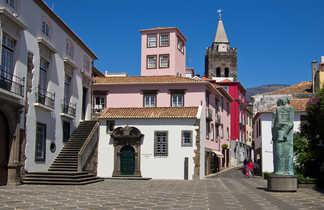 Rue de Funchal à Madère