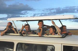 Kenya, safari, parc d'Amboseli