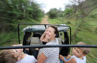 Safari dans le parc national de Ranthambhore en Inde