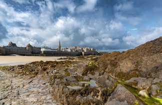 Saint Malo par la plage
