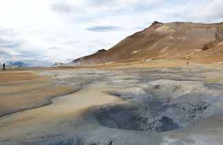 Site géothermique à Myvatn en Islande