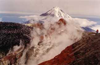 Sommet du volcan Avachinsky, Kamchatka