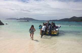 Sortie en mer, Seychelles