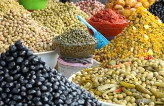 Souk aux olives, Maroc