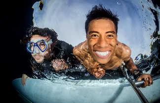 Sourire sous la surface