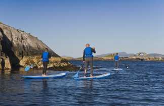 Standu Up paddle en Norvège
