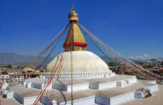 Le stupa de Boddnath, à Katmandou