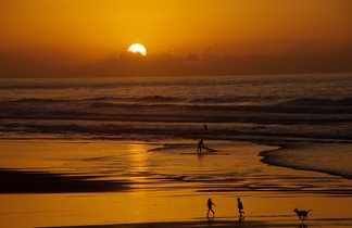 Sunset sur l'Atlantique, Maroc