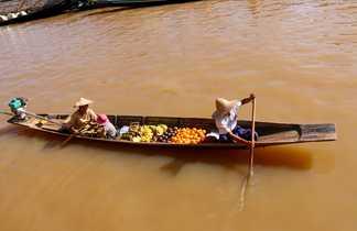 Sur la fleuve d'Irrawaddy