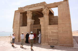 Temple au lac Nasser