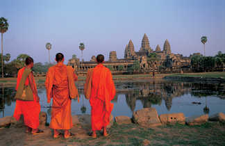 Angkor Vat, Voyage Cambodge