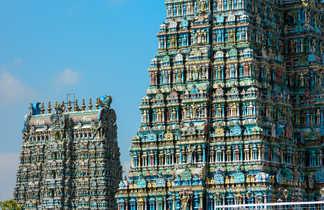 Temple hindou à Trichy, Tamil Nadu