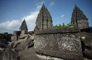 Le Temple de Prambanan, Java, Indonésie