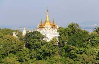 Temple sur la colline de Sagaing