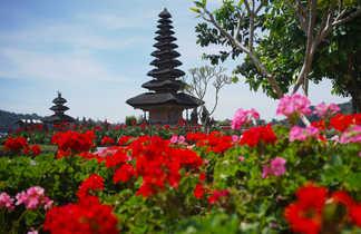 Temple Ulun Danau Bratan, Bali, Indonésie