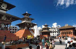 Temples de Durbar Square, Katmandou