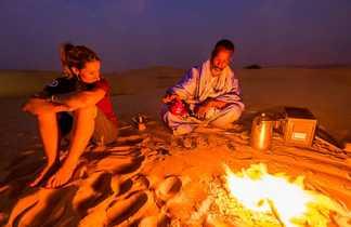 Thé du soir, Mauritanie