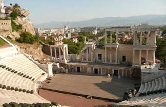 Théâtre romain de Plovdiv en Bulgarie