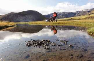 Trek dans la réserve de Fjallabak en Islande