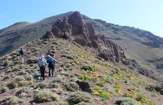 Trek dans le massif d'Alborz