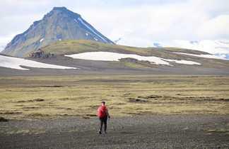 Trek de Laugavegur en Islande