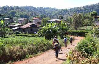 Trek en pays Shan