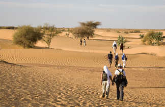 Trek erg Ouarane, Mauritanie