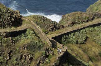 Trek et vie locale sur les sentiers côtiers de Santo Antao