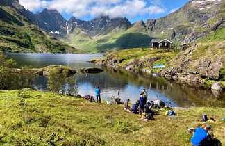Trek rando aux Lofoten