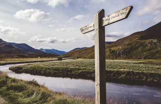 Trekking en Ecosse, dans les Highlands