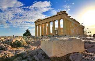 trekking Grèce, visite de sites archéologiques
