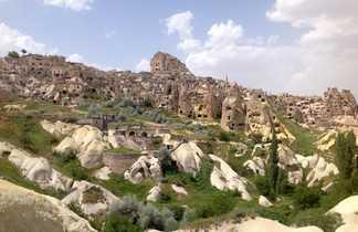 Uchisar, vallée des pigeonniers