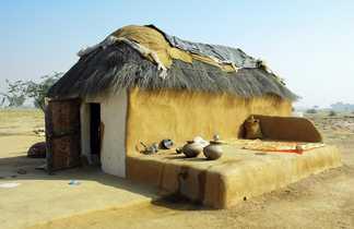Une maison dans le désert du Thar
