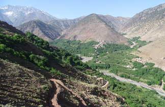 Vallée de l'Azaden, Toubkal, Maroc