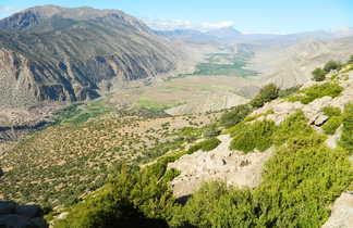 Vallée des Aït Bougmez, Haut Atlas Central, Maroc