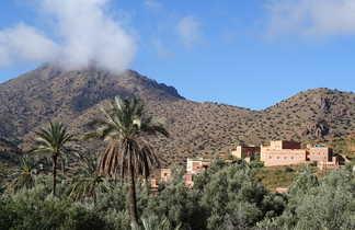 Vallée des Ameln, Anti-Atlas, Maroc