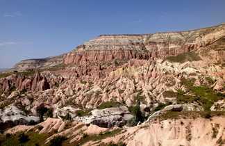 Vallée rose et plateau du Bozdag