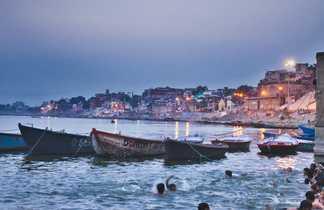 Varanasi, sur les berges du Gange