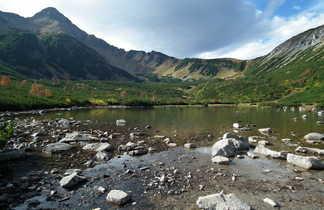 Veľké Biele pleso, grand lac blanc du haut Tatras