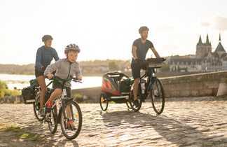 Vélo en famille vers Blois