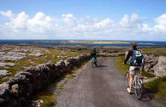 Vélo liberté Inishmore Iles Aran Irlande
