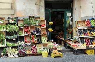 Vendeur légumes