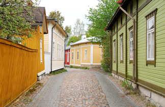 Vieille ville de Rauma, Finlande