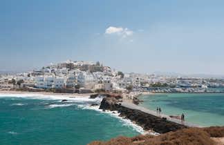 village de bord de mer des Cyclades