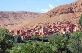 Village de Boutaghar, Maroc
